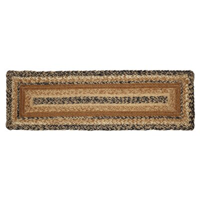 Millicent Caramel Brown Stair Tread Rug Size: 0.7 x 23