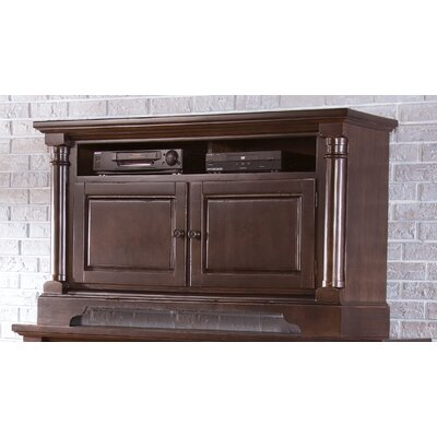 Findlay 54 TV Stand Color: Tobacco