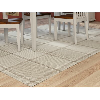 Meyers Hand-Woven Gray Area Rug Rug Size: Runner 26 x 8