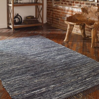 Rosemary Black Rug Rug Size: 5 x 8