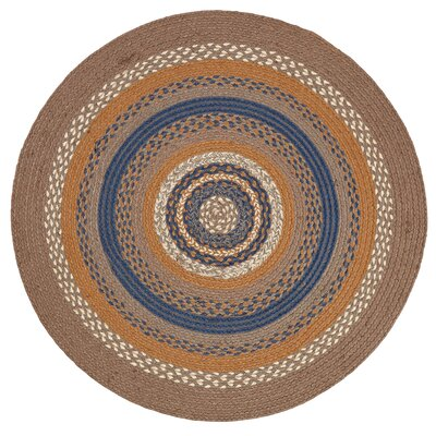 Roxanne Gray Area Rug Rug Size: Round 3