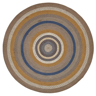Roxanne Gray Area Rug Rug Size: Round 6