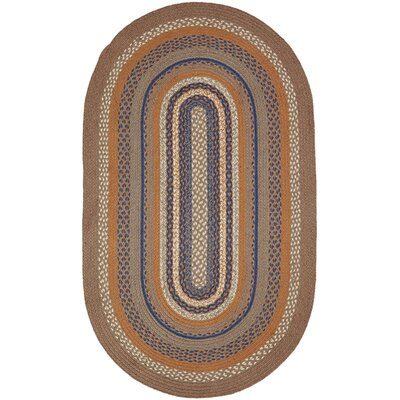 Roxanne Gray Area Rug Rug Size: Oval 3 x 5