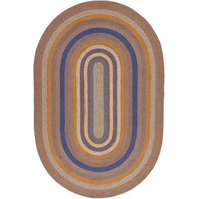 Roxanne Gray Area Rug Rug Size: Oval 6 x 9