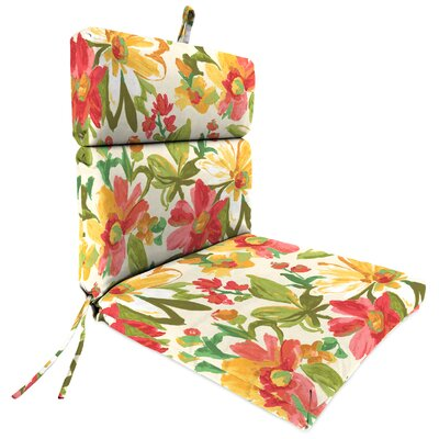 Outdoor Adirondack Chair Cushion Fabric: Elberta Sunbright