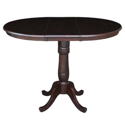 Madeline Pub Table Color: Rich Mocha