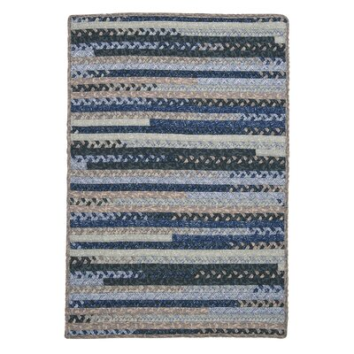 Byron Blue Area Rug Rug Size: Rectangle 2 x 4