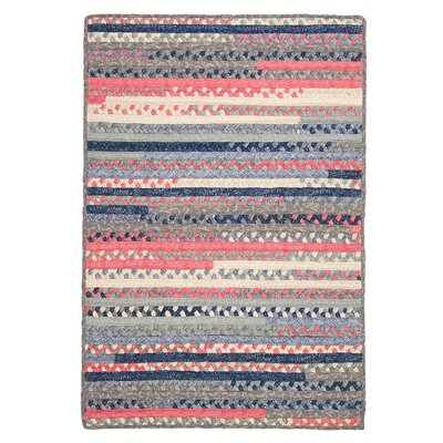 Byron Blue Area Rug Rug Size: Rectangle 4 x 6