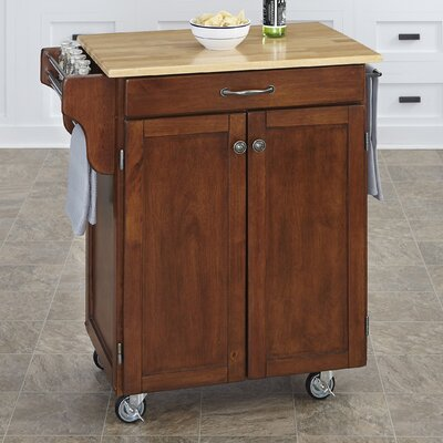 Savorey Kitchen Cart Base Finish: Cherry