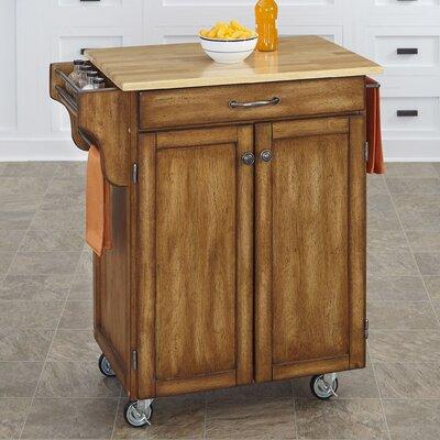 Savorey Kitchen Cart Base Finish: Oak