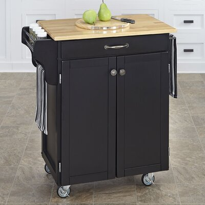 Savorey Kitchen Cart Base Finish: Black