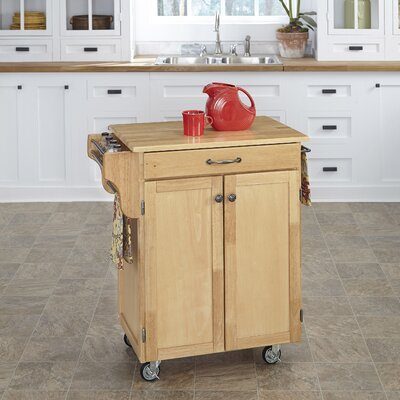 Savorey Kitchen Cart Base Finish: Natural