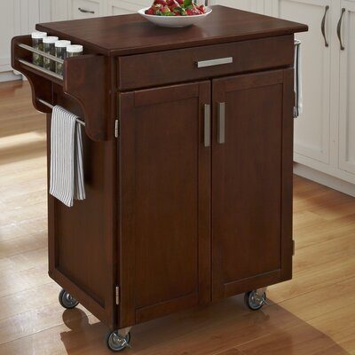 Savorey Kitchen Cart Finish: Cherry