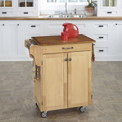 Savorey Kitchen Cart Finish: Natural