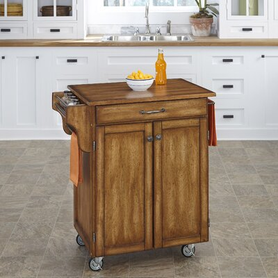 Savorey Kitchen Cart Finish: Warm Oak