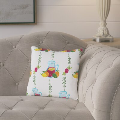 Melina Cotton Throw Pillow Size: 18 H x 18 W x 2 D