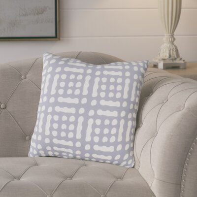 Eliza Throw Pillow Size: 20 H x 20 W x 5 D, Color: GrayNeutral