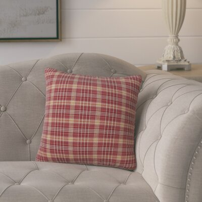 Antonette 100% Cotton Throw Pillow