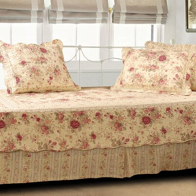 Abbigail 5 Piece Reversible Daybed Set