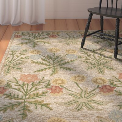 Ginger Beige Area Rug Rug Size: Rectangle 4 x 6