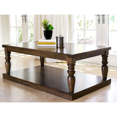 Sainte-Rose Wood Coffee Table