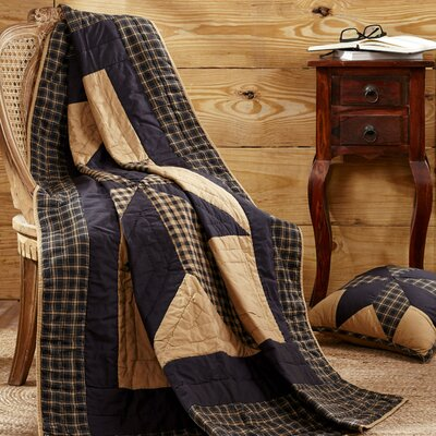 William Quilted Cotton Throw