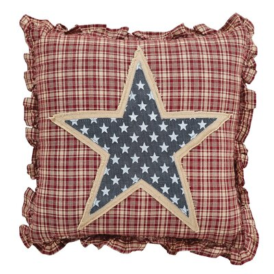 Adell Star 100% Cotton Throw Pillow