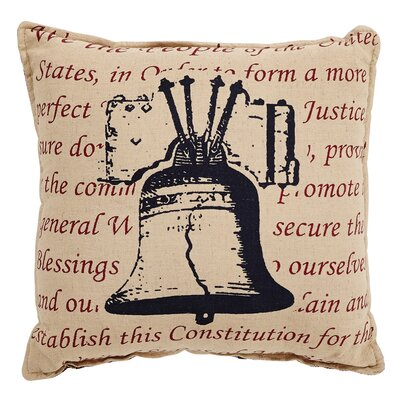 Adell Bell Cotton Throw Pillow