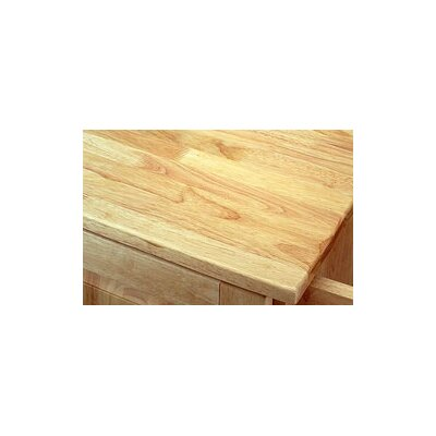 Adelle-a-Cart Kitchen Cart Top Top: Wood