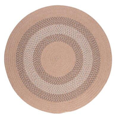 Serafin Oatmeal Area Rug Rug Size: Round 8