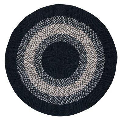 Serafin Navy Area Rug Rug Size: Round 12