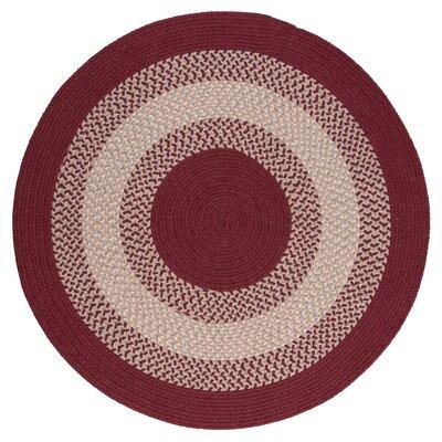 Serafin Berry Area Rug Rug Size: Round 4