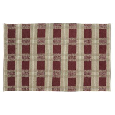 Rayle Elmwood/Cream Area Rug Rug Size: 3 x 5