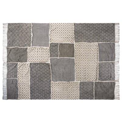Aurelia Black/Gray Area Rug Rug Size: 8 x 11