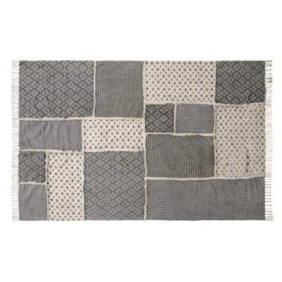 Aurelia Black/Gray Area Rug Rug Size: 6 x 9