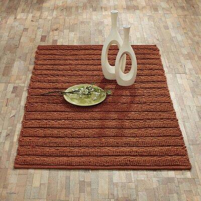 Milton Hand-Woven Amber Area Rug Rug Size: 3 x 5