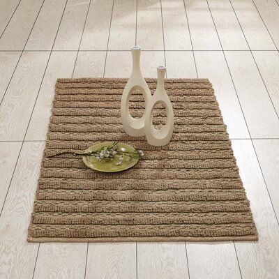 Milton Hand-Woven Natural Area Rug Rug Size: 3 x 5