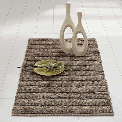 Milton Hand-Woven Silver Area Rug Rug Size: 23 x 4