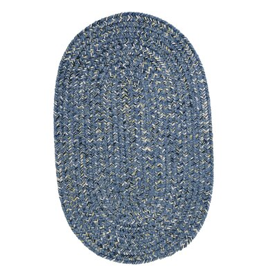 Annet Blue Area Rug Rug Size: Oval 8 x 11