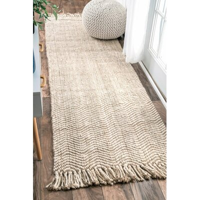 Christopher Hand-Woven Area Rug Rug Size: Runner 26 x 8