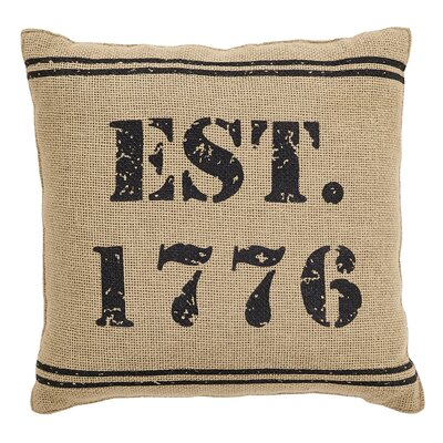 Adell 1776 Cotton Throw Pillow