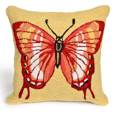 Ismay Butterfly Throw Pillow Size: 20 x 30