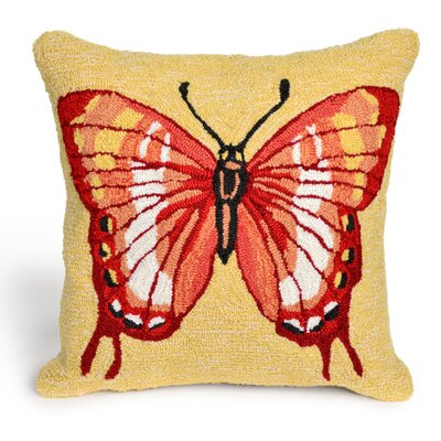 Ismay Butterfly Throw Pillow Size: 30 x 48