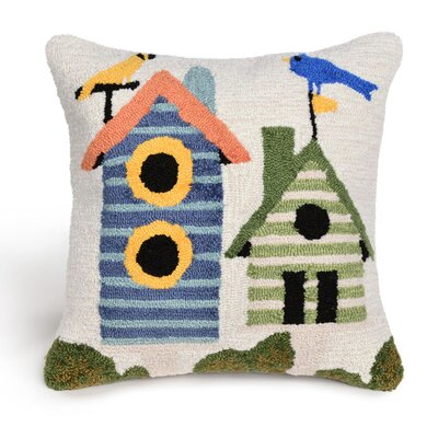 Ismay Birdhouses Throw Pillow