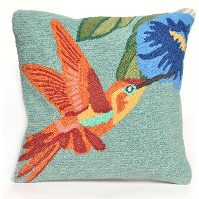 Ismay Hummingbird Sky Throw Pillow