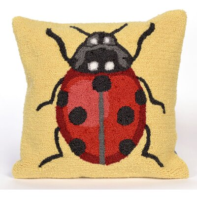 Ismay Ladybug Throw Pillow