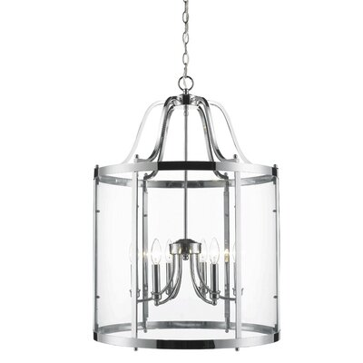 Tessie 6-Light Foyer Pendant Color: Chrome