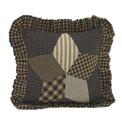 Saco Star Cotton Throw Pillow
