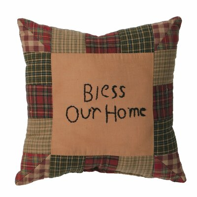 Annabelle Bless Our Home Cotton Throw Pillow