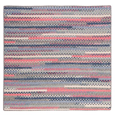 Byron Blue Area Rug Rug Size: Square 10